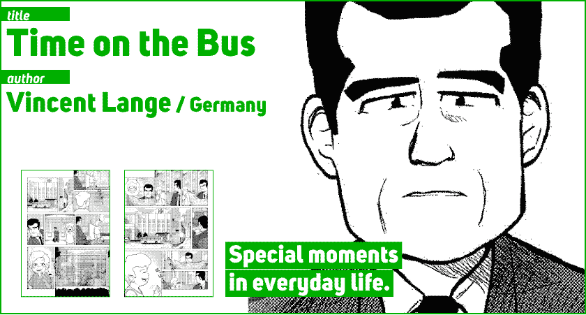 Germany Vincent Lange 21 Time on the Bus
