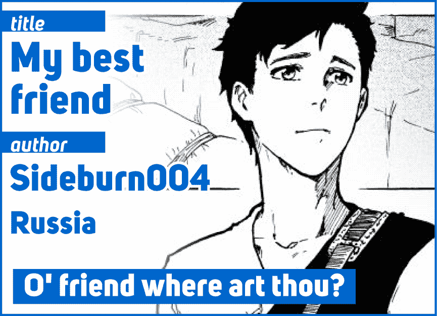 My best friend by Sideburn004