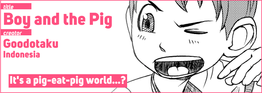 Boy and the Pig